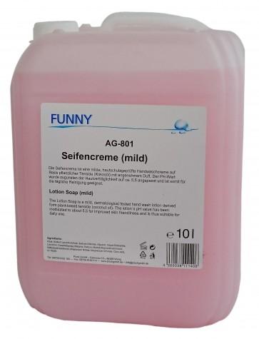 Funny Seifencreme rosa pH-Wert: 5,5-6,5 10 Liter hautschonend dermatologisch geprüft