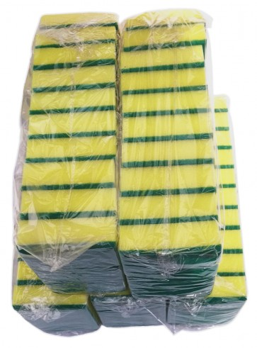 Griffschwamm Topfschwamm Reinigungsschwamm Küchenschwamm Padschwamm Schwamm Paket 50-tlg