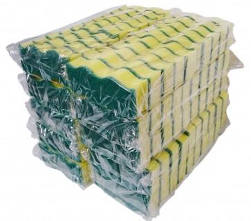 Griffschwamm Topfschwamm Reinigungsschwamm Küchenschwamm Padschwamm Schwamm Paket 100-tlg