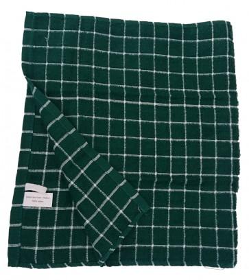 Handtuch Geschirrtuch Gläsertuch Küchentuch Trockentuch Reinigungstuch 37x65 cm 100% Baumwolle grün 10er Pack