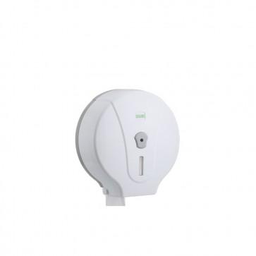 Jumbo Toilettenpapier Spender Halter weiß Jumborollenhalter Toilettenpapierhalter Toilettenpapierspender