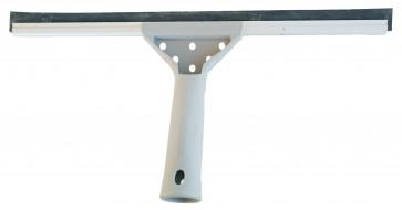 SemyTop Fensterabzieher Aluminium Schiene mit Plastikgriff 45 cm