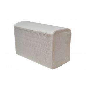 Papierhandtuch Falthandtuch 2-lagig V-Falz 20 x 21 cm hochweiß 3200 Blatt je Karton