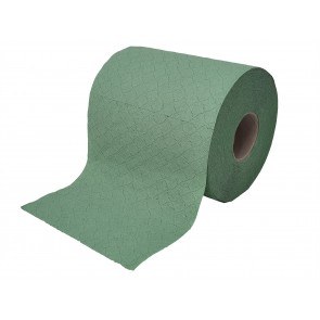 Papierhandtuchrolle Putzpapier Putztuchrollen Papierhandtücher 1-lagig Recycling grün 19 cm MIDI 6 Rollen