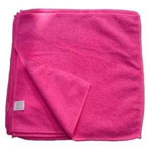 Mikrofasertücher Reinigungstuch Fenstertuch Poliertuch rot 30x30 cm 10er Pack waschbar bis max. 60 Grad