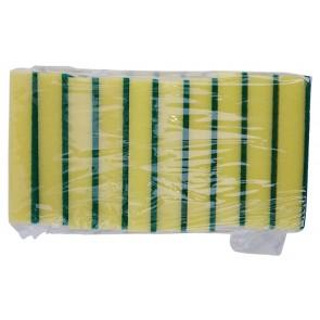 Griffschwamm Topfschwamm Reinigungsschwamm Küchenschwamm Padschwamm Schwamm Paket 10-tlg