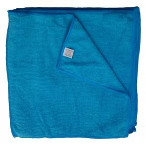 Mikrofasertücher Reinigungstuch Fenstertuch Poliertuch blau/türkis 30x30 cm 10er Pack waschbar bis max. 60 Grad