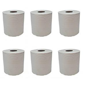 Papierhandtuchrolle Putzpapier Putztuchrollen Papierhandtücher 2-lagig Recycling  -19 cm MIDI