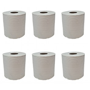 Torkrolle Papierhandtuchrolle Putzpapier Putztuchrollen Papierhandtücher 2-lagig Recycling 320m