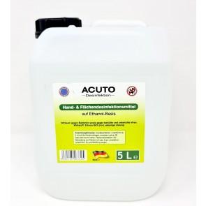 Acuto Hand- und Flächendesinfektion 5 Liter Hände-Antiseptikum Desinfektionsmittel