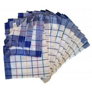 Geschirrtuch Gläsertuch Küchentuch Trockentuch 50x70cm 50% Baumwolle 50% Leinen 10er Pack