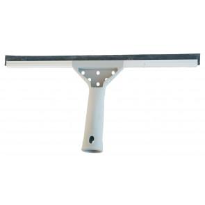 SemyTop Fensterabzieher Fensterwischer Abzieher Aluminium Schiene mit Plastikgriff 45 cm