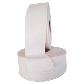 Pewodi Jumbo-Toilettenpapier 2-lagig Recycling 6 Rollen je Pack  450m