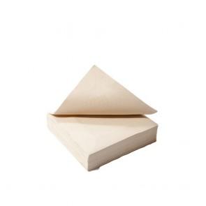 PapierServietten, 30 x 30 cm, 1-lagig, weiß/rot kariert, 1/4 Kopffalz, Snackservietten für Imbiss, Gastronomie, Hotel, Events